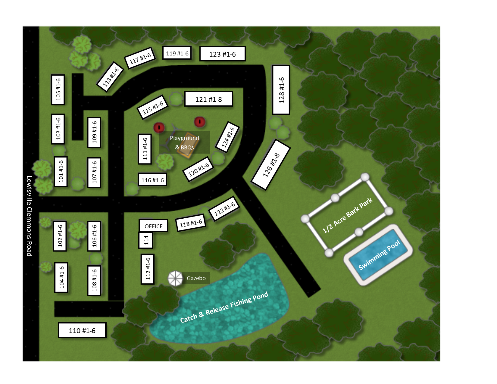 Site Map Clemmons Trace Village Apartments Of Clemmons Nc